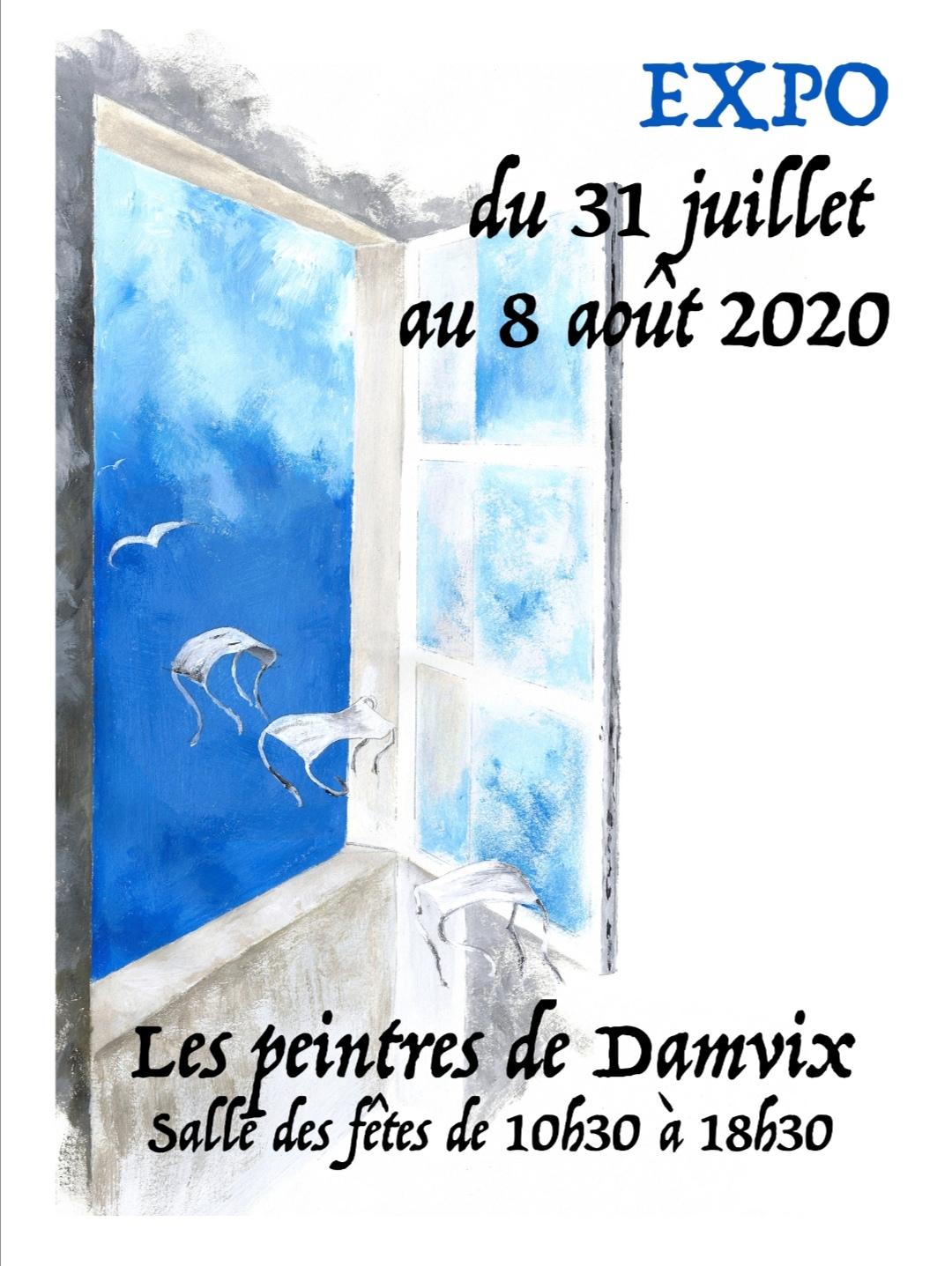 AfficheExpoDamvix2020